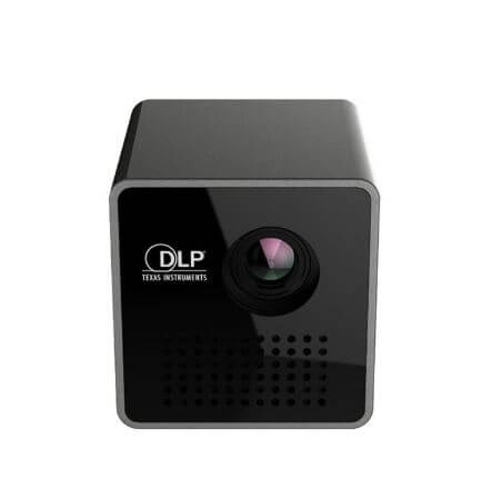 MovieCube 2020 Mini Pocket Projector DLP® UNIC P1+ Texas Instruments 1080p HD Wireless Pocket 30 Lumens Mini Projector