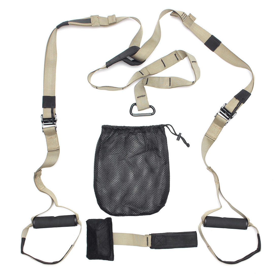 BodyTemple™ Sling Trainer Set Suspension Rope Home Workout Solution