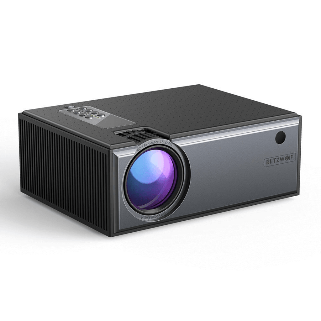 Ultimate Portable Beamer - Blitzwolf® BW-VP1 LCD 2800 Lumens Portable 720p Smart Home Theater Projector With Remote Control