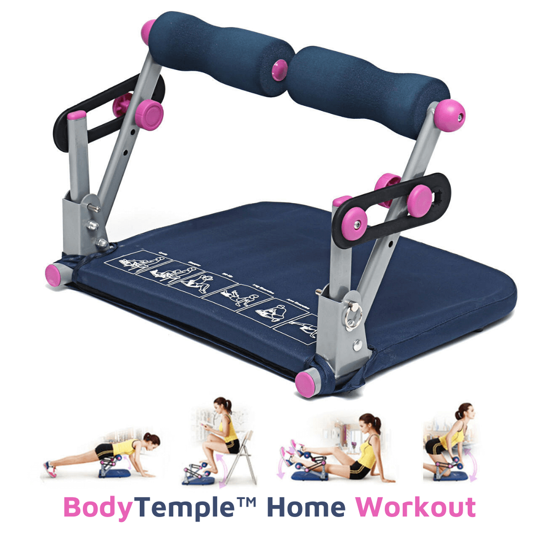 BodyTemple™ Core Body Sit-Up Stepper Cycle Core Abdominal Muscle 6 in 1 Home Fitness Machine