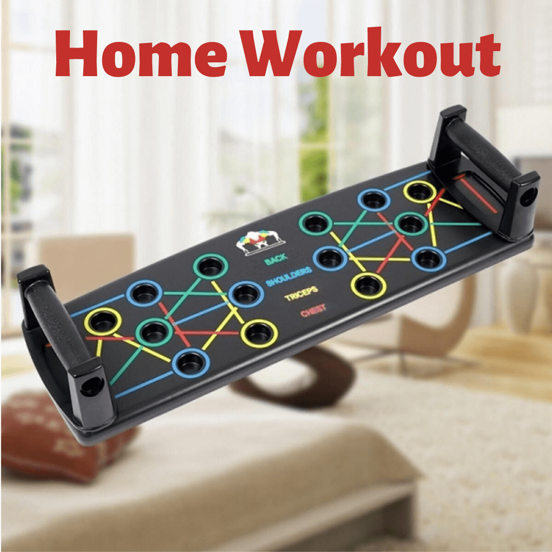 Push Up Plate Multifunctional Chest Back Muscle for Home Workout