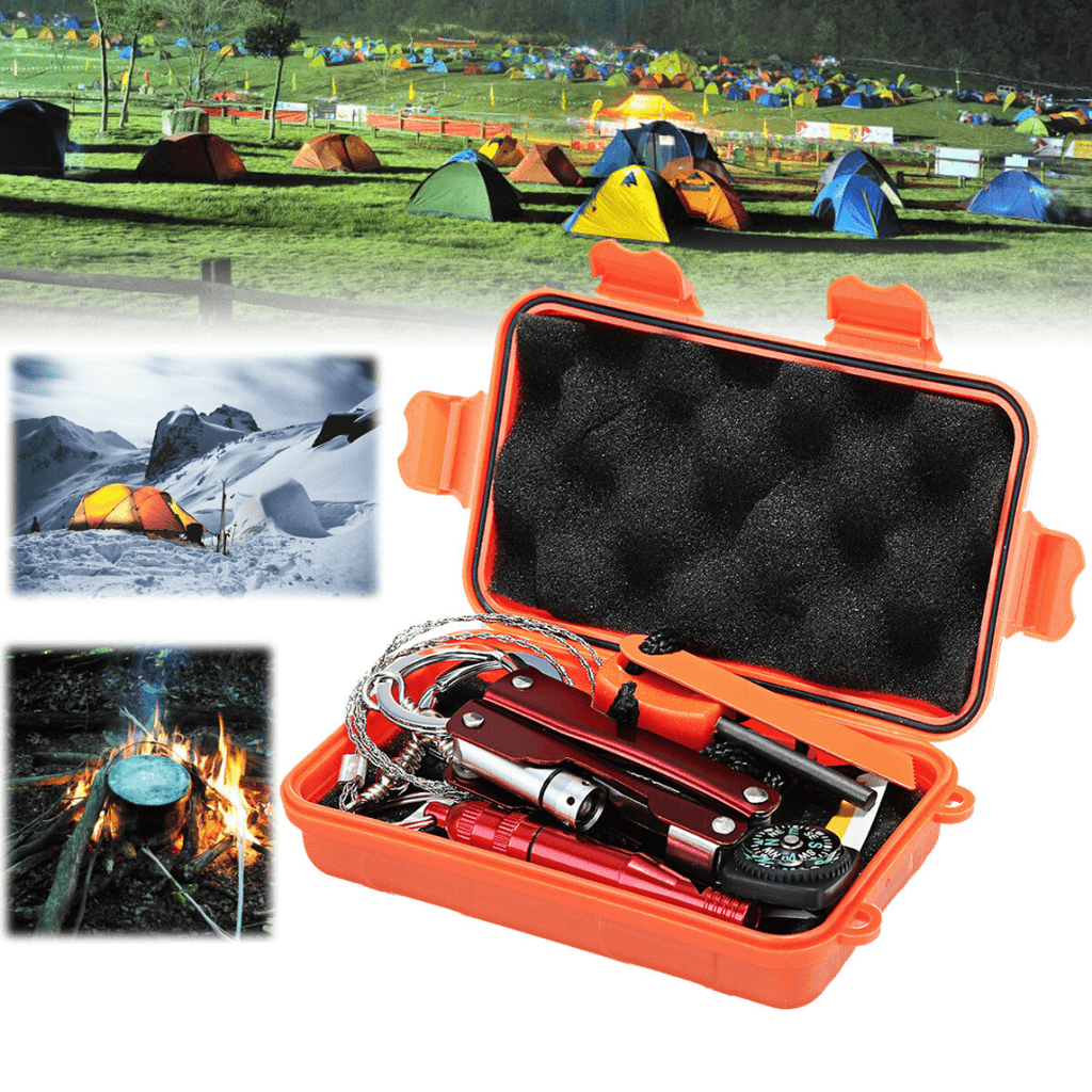 Survival SOS Ultimate Portable Military Emergency Survival Kit