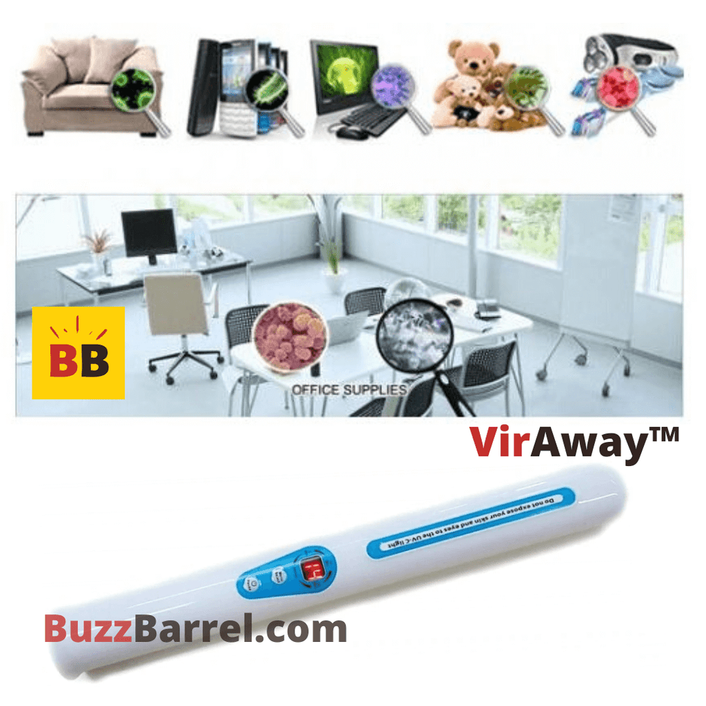 UV LED Disinfection Wand Sanitize Bacteria & Virus with Portable UV-C Light
