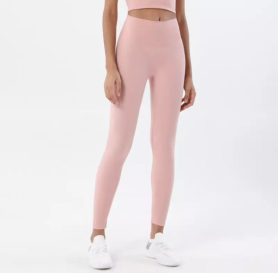 Peach Powder Leggings