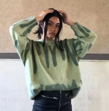 Wave Sweater Green