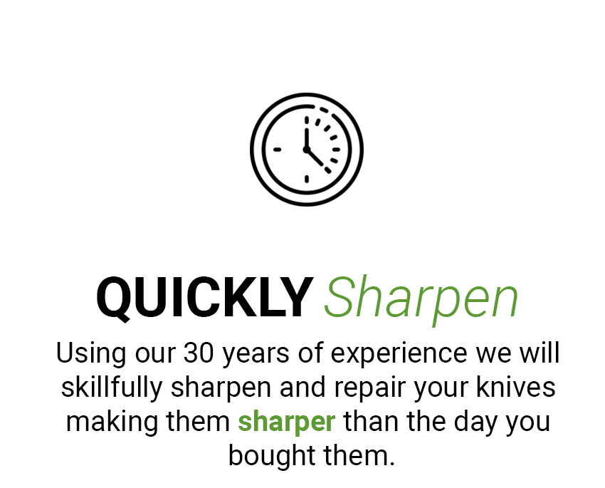 Quickly Sharpen your Knives UK