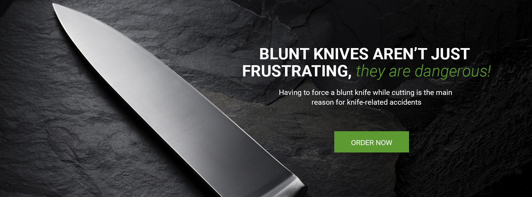 UK Professional Knife Sharpening Service by Post