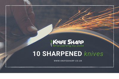 KnifeSharp 10 Knives Gift Card