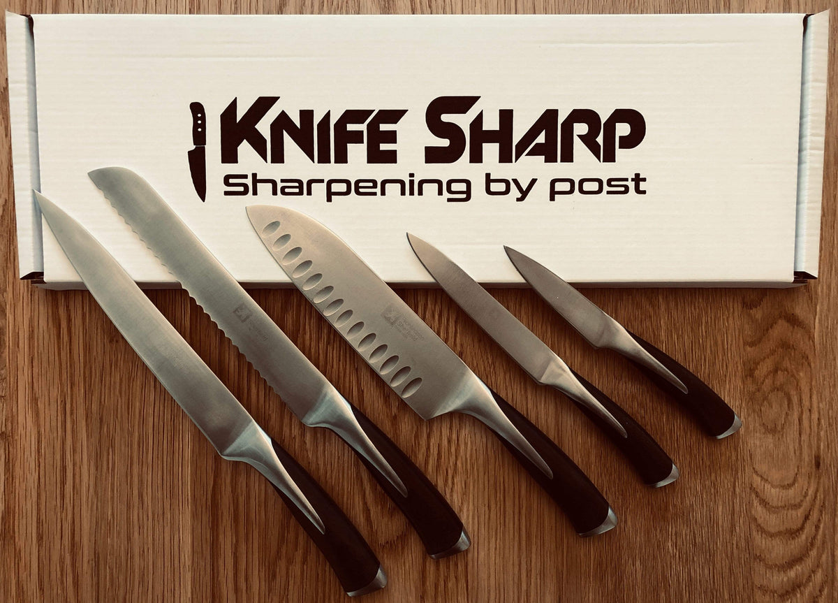 Local Knife Sharpening UK | Knife Repair By Post UK | Knife Sharp