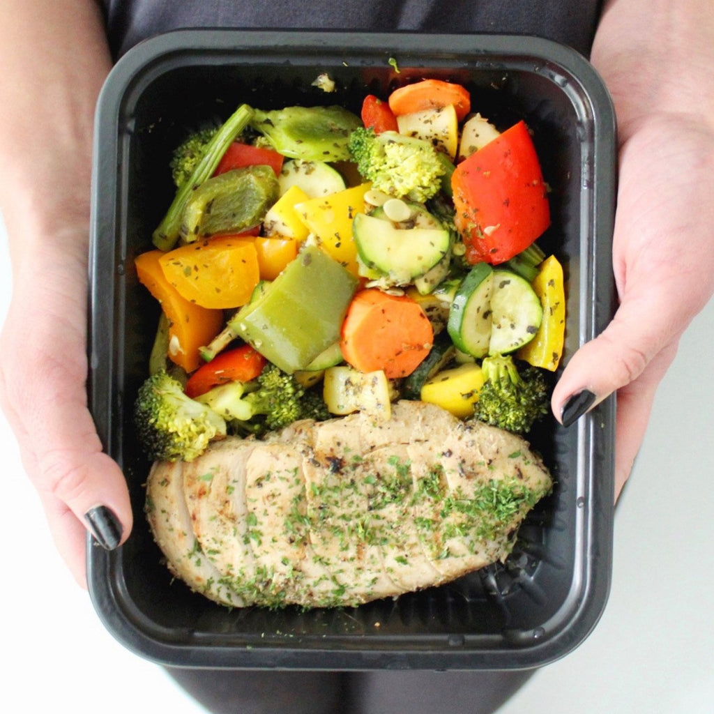 Paleo Greek Chicken Meal