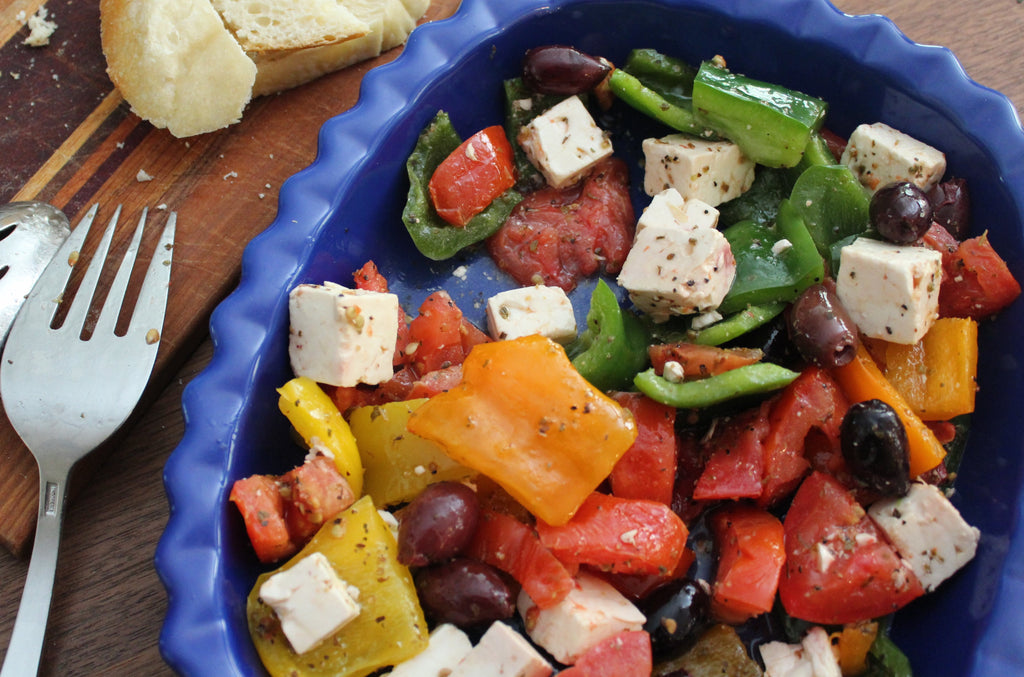Fresh Greek Salad - GF