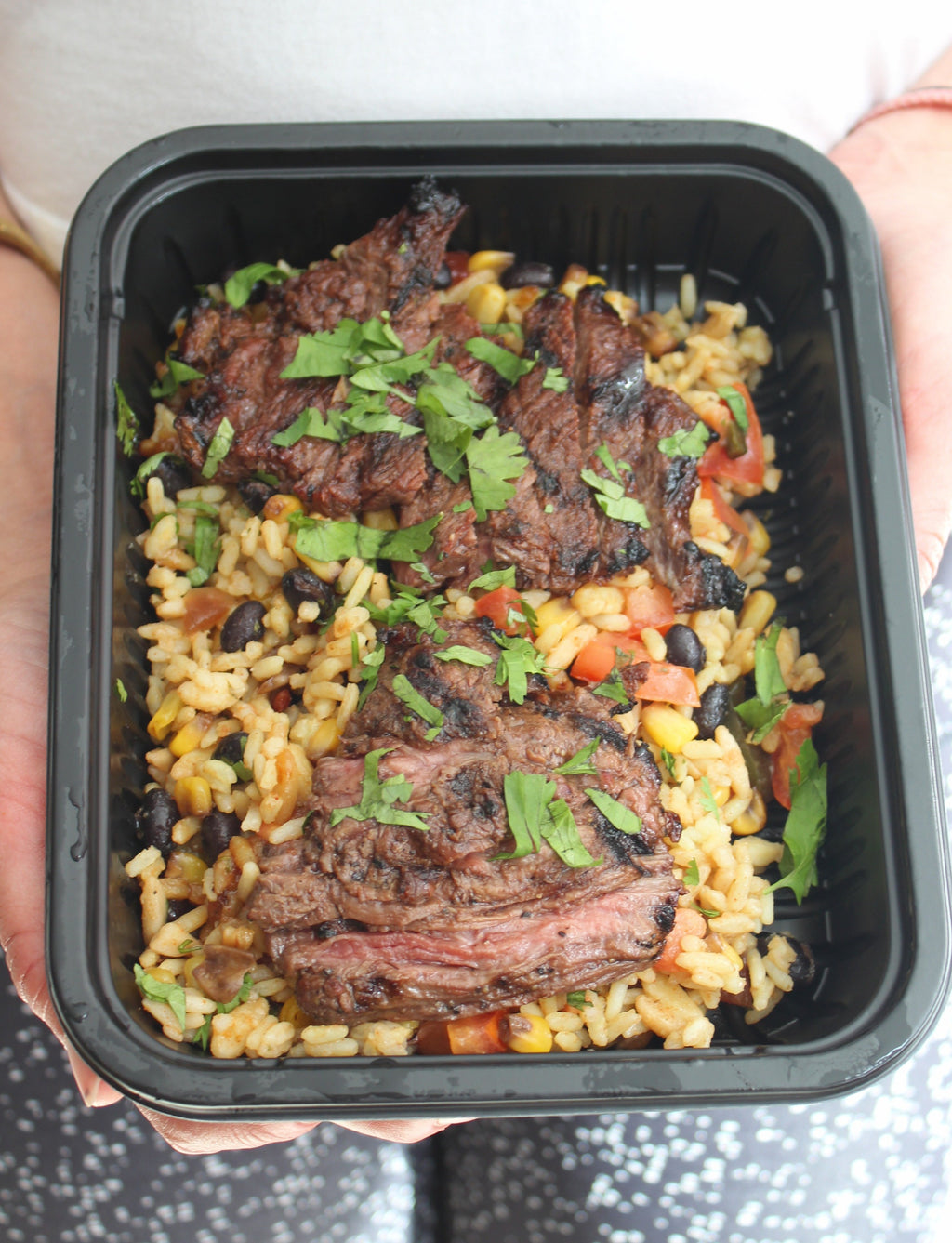 NEW - South Western Bowl with Marinated Steak Tips