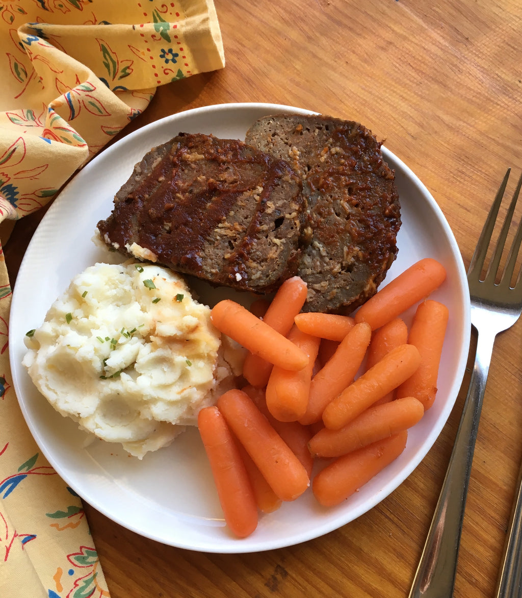 Meatloaf & Mashed MEAL of the MONTH