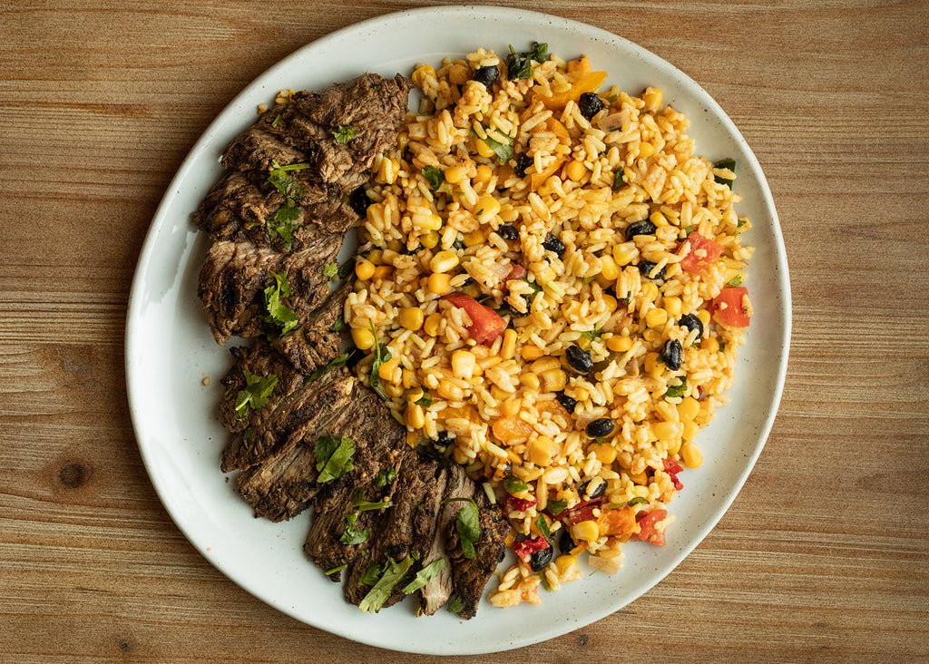 Southwestern Steak & Rice Bowl