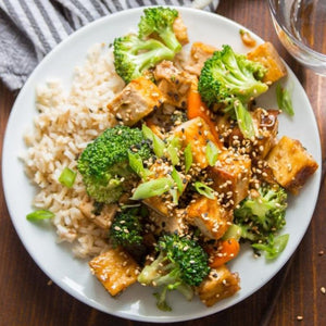Vegetarian Tofu Stir-Fry Meal