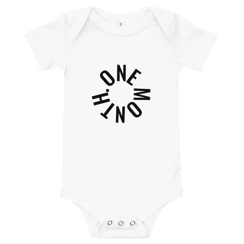 BABY MILESTONE ONESIES - SET OF 12