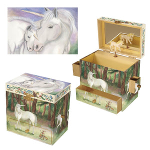 Mythical Creatures Musical Treasure Boxes