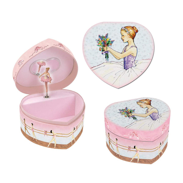 Ballet Heart Small Music Box