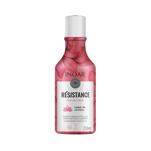 Leave-In Inoar Resistance Flor de Lotus 250ml - ALO BRAZIL