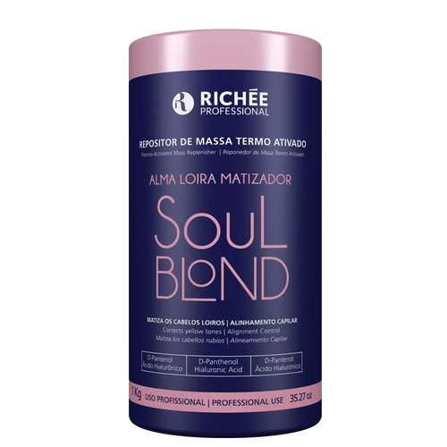Richée Soul Blond Mass Repositories Thermo Activated 1kg/33.81fl.oz - ALO BRAZIL