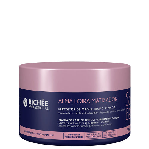 Richée Soul Blond Mass Activator Thermo Activated 300g/10.14fl.oz - ALO BRAZIL