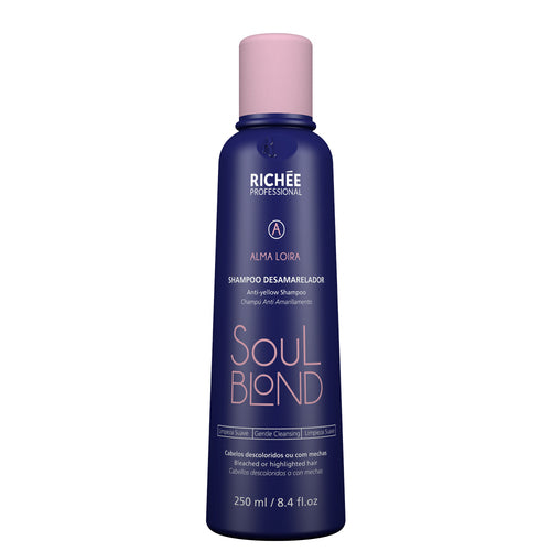 Richée Soul Blond Shampoo 250ml/8.45fl.oz - ALO BRAZIL