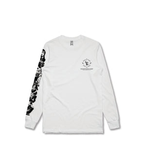 T-Shirt Long Sleeve (White)