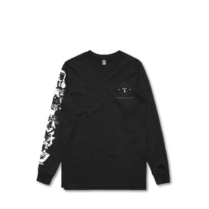 T-Shirt Long Sleeve (Black)