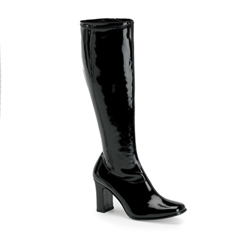The AKD Boot - Black Patent Leather