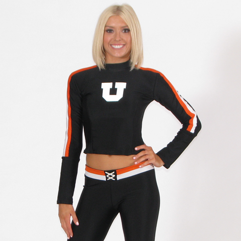 Body Hugger Top and Football Pant Set