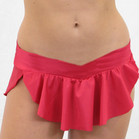 Dip Flounce Skirt (no piping)