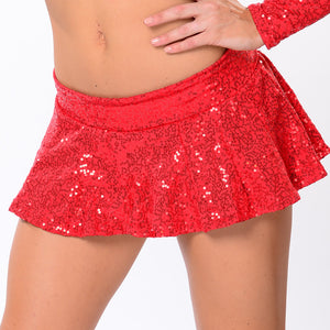Sequin Trumpet Skirt