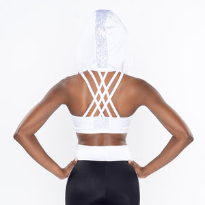 Hooded Halter with Crossing Straps