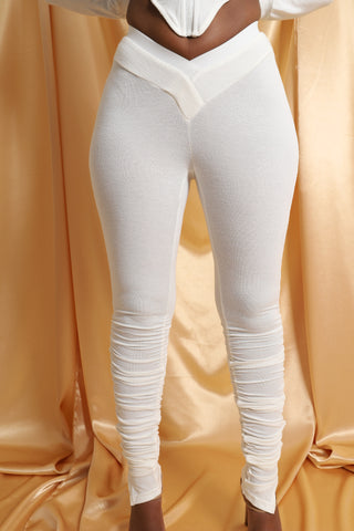 Sweat Leggings - White