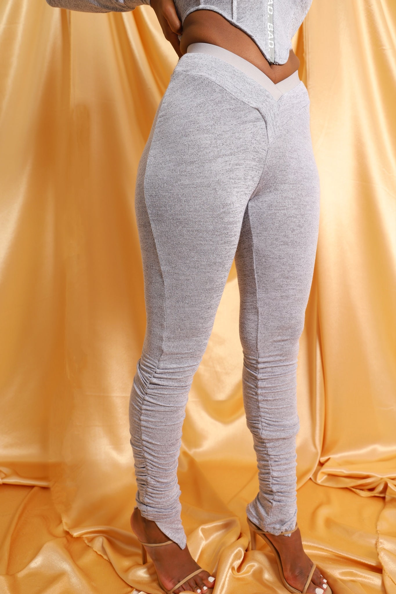 Sweat Leggings - Ice Grey