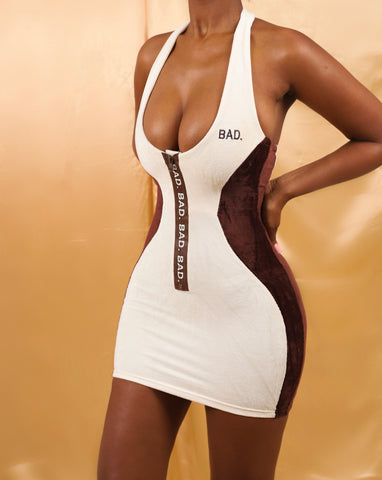 Contour Mini Dress - Flipped Oreo's- order a size up