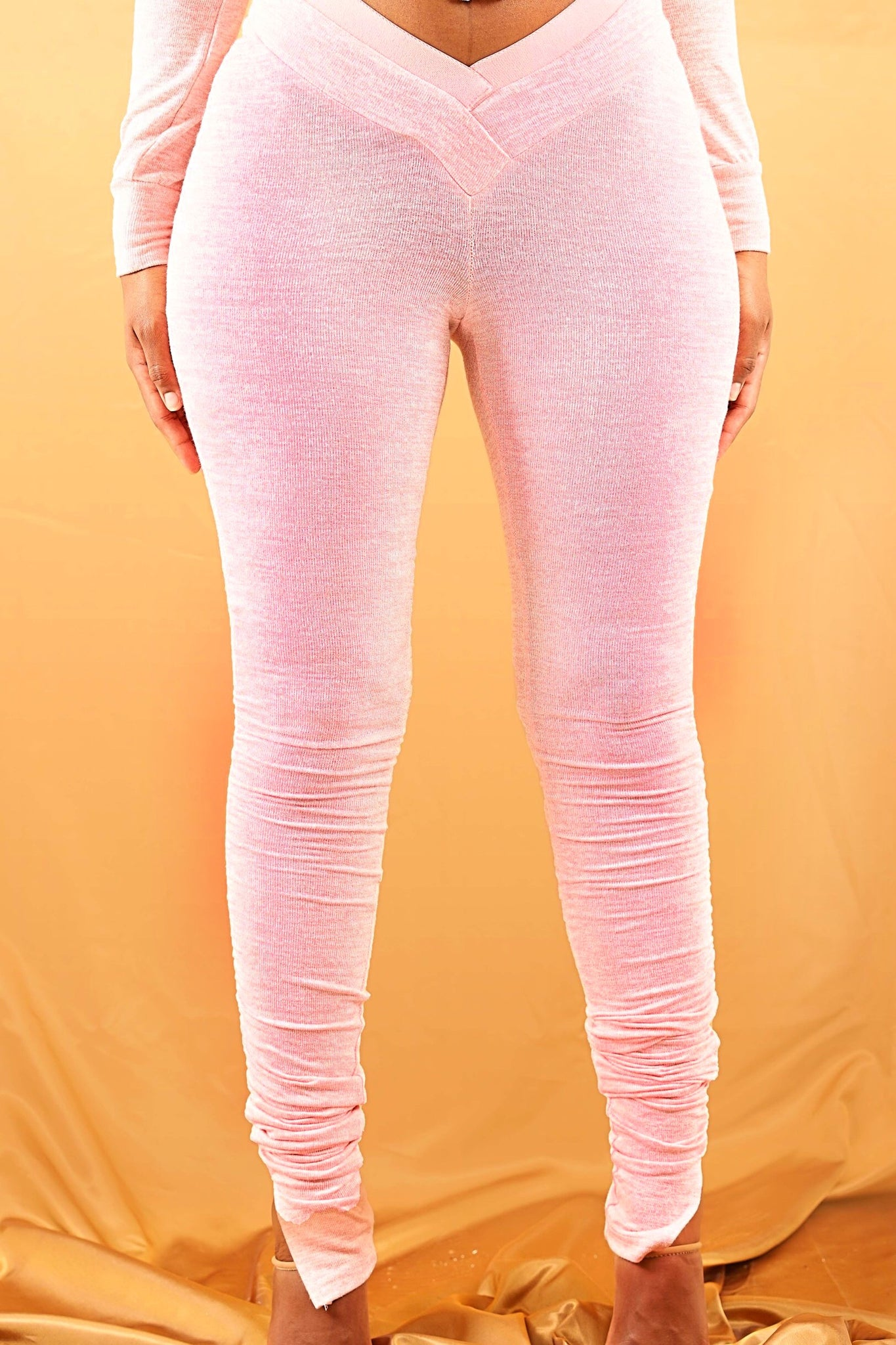 Sweat Leggings - Baby Pink