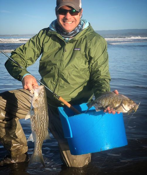 Monterey Surf Fly Fishing Report
