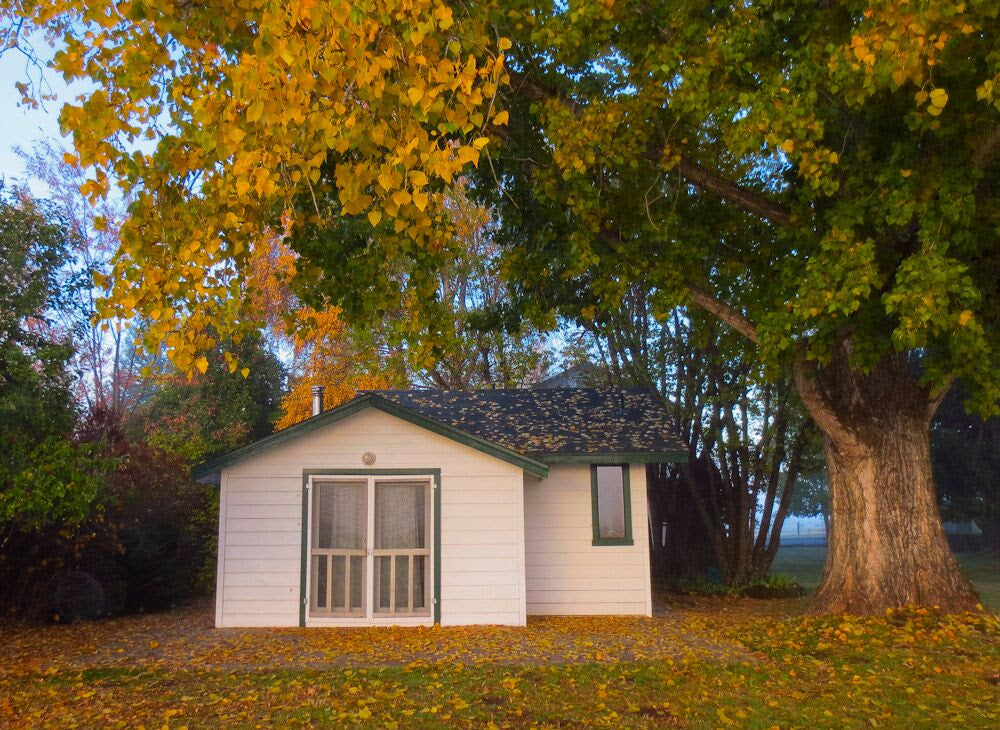 Fall River Fly Fishing Lodging - Val Atkinson's  & Susan's Cabin