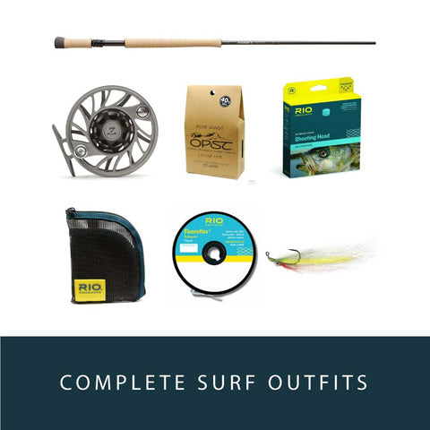 LCO Beach and Surf Rod and Reel Outfits