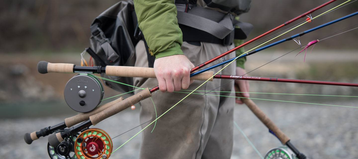 Lost Coast Outfitters carries the best fly fishing gear.
