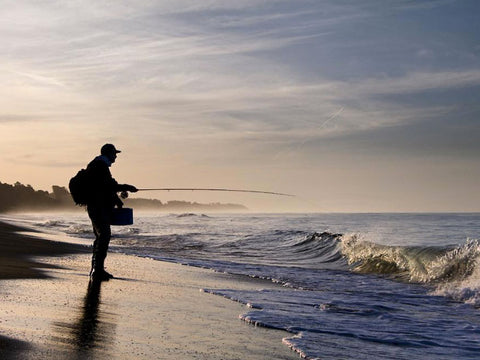 Fly Fishing The Surf