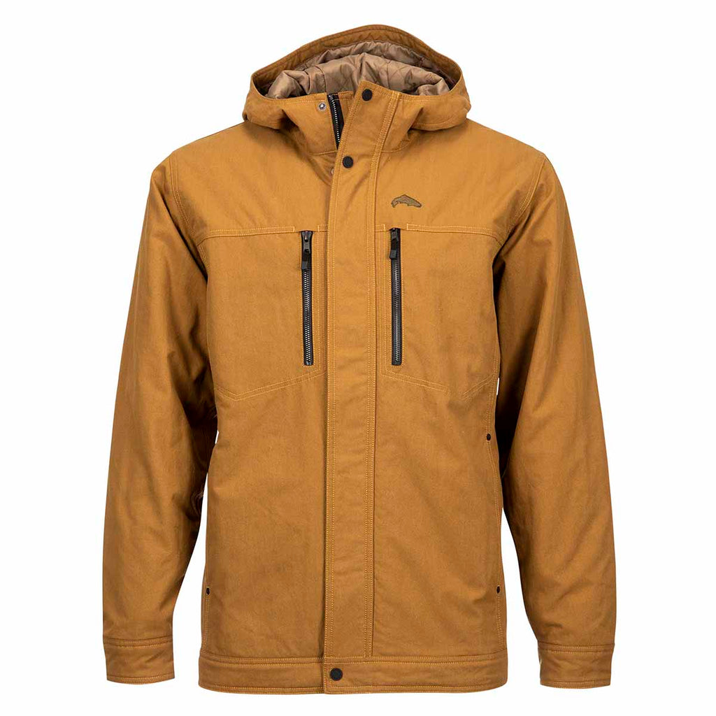 Simms Dockwear Hooded Jacket - Dark Bronze