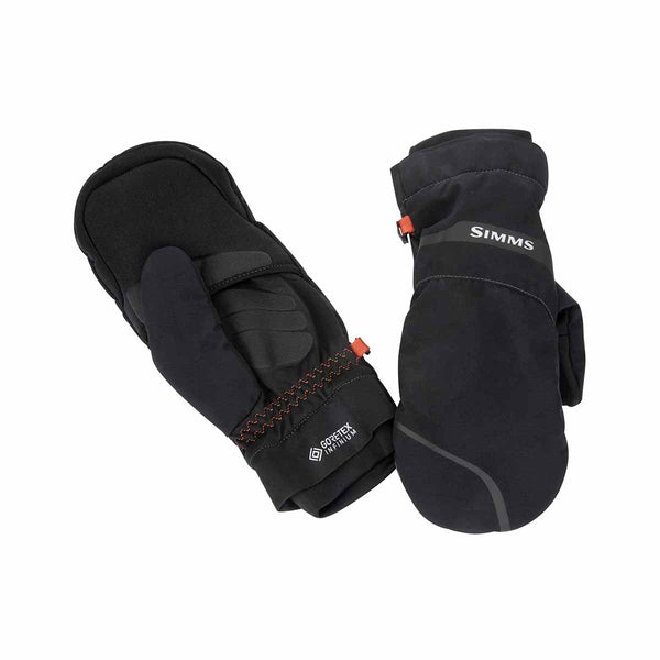 Simms Gore-tex Extream Foldover Mitt - Black