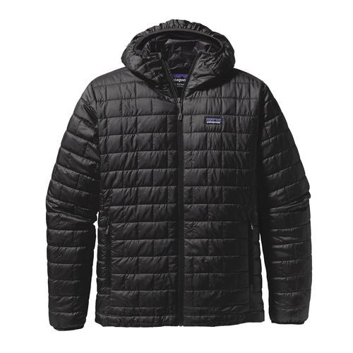 Patagonia Men's Nano Puff Hoody - Black