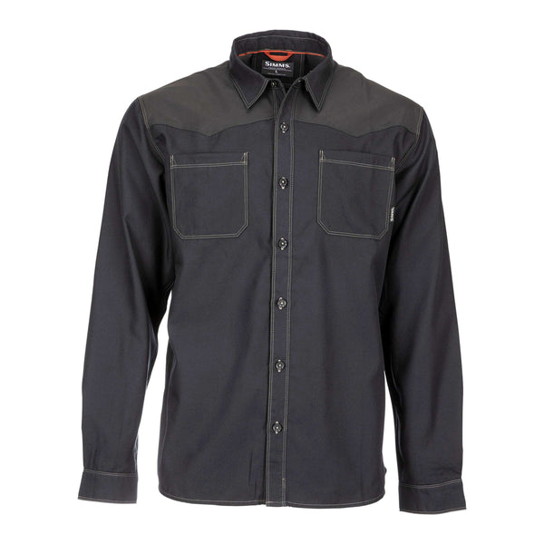 Simms Black's Ford Flannel