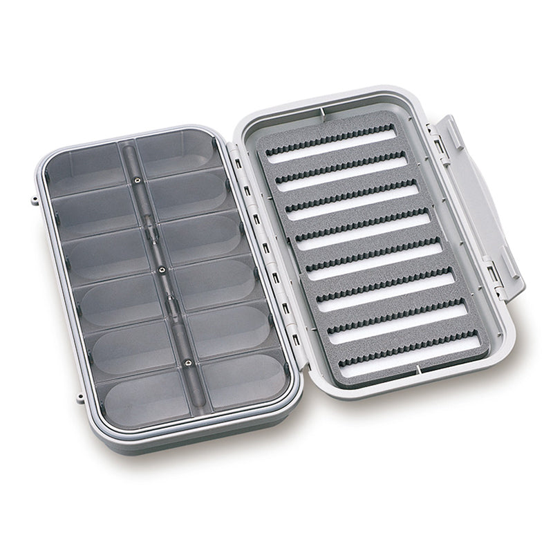 C&F Design Large 8-Row Waterproof Fly Box with 12 Compartments