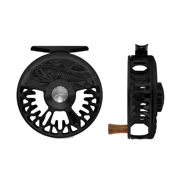 Abel VAYA Fly Reel Casey Underwood On The Hunt- Black