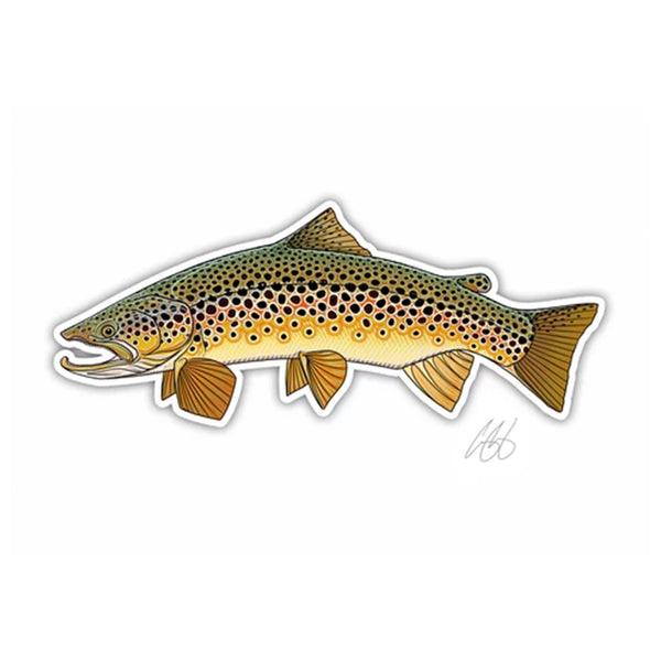 Casey Underwood Fish Decal - Fresh Water