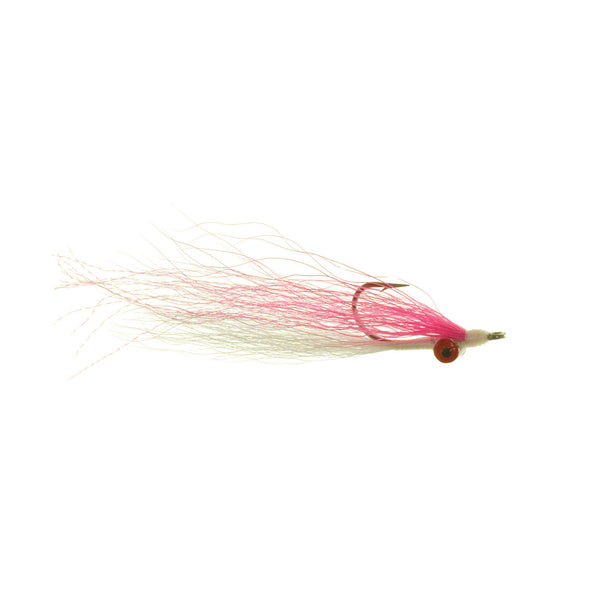 Clouser Minnow - Pink/White